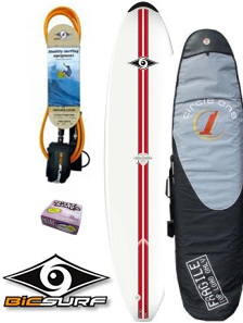 Bic 8ft4 Magnum package - Red